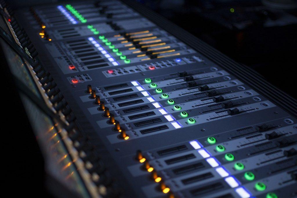 mixing, sound, music